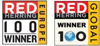 「Top 100 Red  Winners」を受賞しました